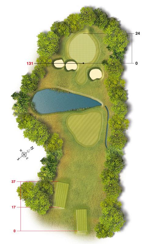 Golf-Land-Club Köln, Platzbeschreibung Loch 12