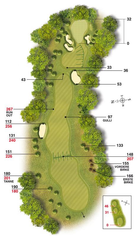 Golf-Land-Club Köln, Platzbeschreibung Loch 17