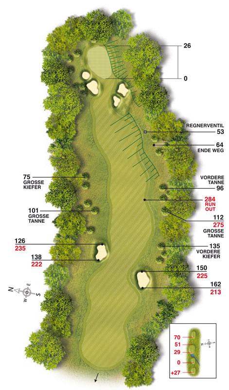Golf-Land-Club Köln, Platzbeschreibung Loch 6