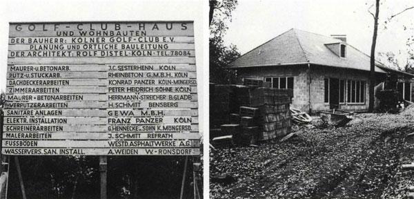 Vom Kölner Golf-Club zum Golf- und Land-Club Köln - Die Historie