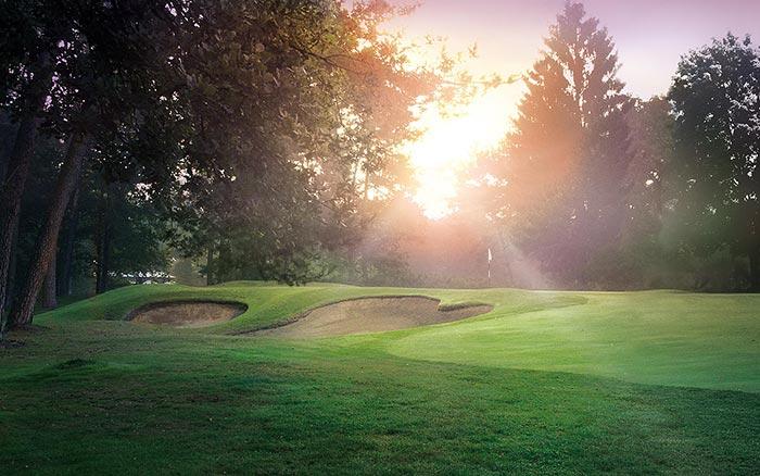 Golfclub & Landclub Köln - Auf dem Golfplatz, Bunker